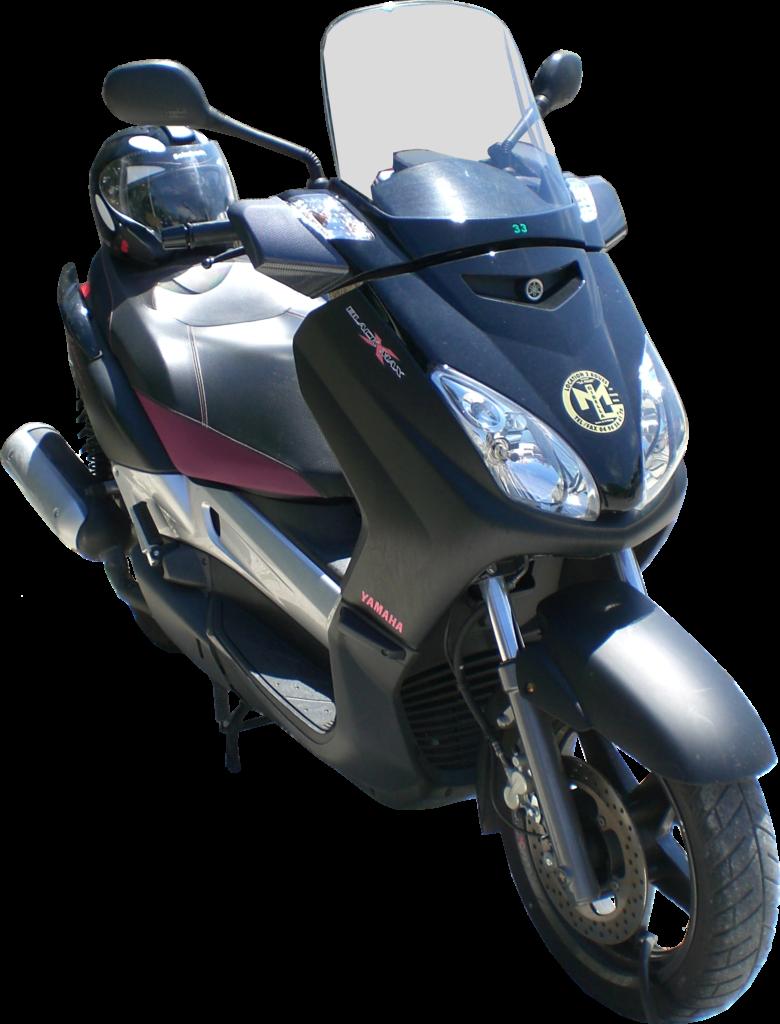 yamaha x max 125cc mbk skycruiser gibella locations motos. Black Bedroom Furniture Sets. Home Design Ideas